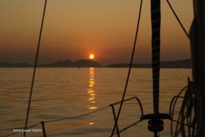 Atardecer en las Islas Cies.Rodeiramar Photo