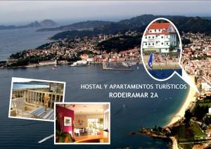 Hostal y Apartamentos en Cangas de Morrazo, Rias Baixas(apartahotel)