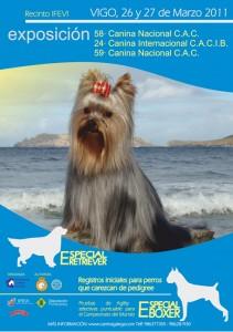 Oferta de alojamiento para la exposicion canina de Vigo. IFEVI
